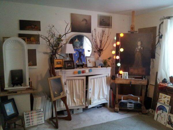 Jhenna Quinn Lewis studio